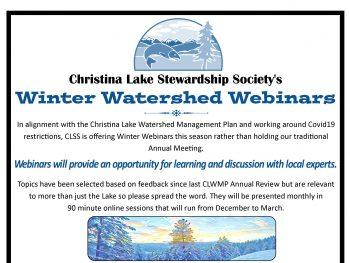 Watershed Webinars